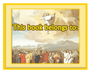 religious bookplate jesus ascension this printable bookplate ...